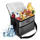 NASUM Kühltasche Picknicktasche Thermotasche Lunch Tasche isolierte Sanne Kühlbox...