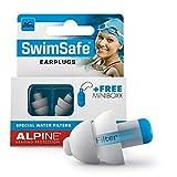 Alpine SwimSafe Gehrschutz Ohrstpsel zum Schwimmen - wasserdichte Ohrenstpsel zum Wassersport...