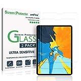 amFilm Panzerglas Displayschutzfolie für iPad Pro 11 (2 Stück), Abgerundete Ecken Panzerglas...