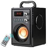Tragbarer Bluetooth-Lautsprecher,Mobile PA-Partyanlage, 20 W, Subwoofer, starker Bass, kabellos, fr...