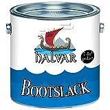 Halvar Bootslack Yachtlack Bootsfarbe Yachtfarbe PU-verstrkt fr Holz verstrkt, extrem belastbar und...