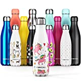 Proworks Personalisiert Edelstahl Trinkflasche | 24 Std. Kalt und 12 Std. Heiß - Vakuum...