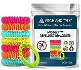 Mckenschutz Armband (10 Stck) | Anti Mcken Mosquito Repellent mit Citronella | Natrliche zuverlssige...