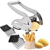 Pommesschneider, Kartoffelschneider, Gemüsehobel mit austauschbaren Klingen für Kitchen Craft