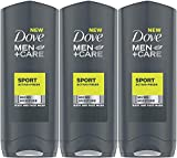 3 x Dove Men + Care Sport Active+Fresh Body and Face Wash