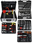Famex 719-44 Mechaniker Werkzeugkoffer Komplettset, 174/214-teilig