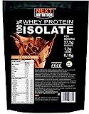Molkeprotein 100% isoliert V. B. 104 KG 1 Kakao schmecken Sofortige Assimilation | Nur 0,18 g Fette...