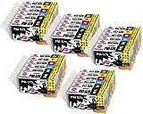 INK INSPIRATION Ersatz für Canon PGI-525 CLI-526 Druckerpatronen 30er-Pack, kompatibel mit Canon...