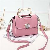 Unbekannt Damen Handtasche/Schultertasche/Schultertasche, 6 Farben (Farbe: Pink)