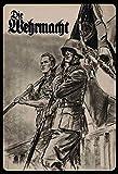 Schatzmix Retro Die Wehrmacht (Soldaten) Metallschild Wanddeko 20x30 tin Sign Blechschild, Blech,...