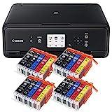 Canon Pixma TS5050 TS-5050 Farbtintenstrahl-Multifunktionsgerät (Drucker, Scanner, Kopierer, USB,...