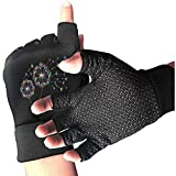 Handgemalte Löwenzahn Bunte Turnhalle Handschuhe atmungsaktiv halbe Finger rutschfeste...
