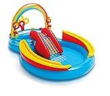 Intex Rainbow Ring Play Center - Kinder Aufstellpool - Planschbecken - 297 x 193 x 135 cm - Fr 3+...