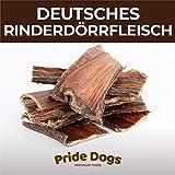 PrideDogs Rinderdörrfleisch kurz 500g der Premium Kausnack für Ihren Hund   100% Rind aus...
