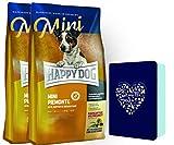 HappyDog Supreme Mini Piemonte 2 x 4 kg und 1 x Happy Dog Schmuckdose