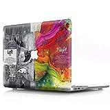 AQYLQ Hülle für 2018 MacBook Air 13 Zoll mit Retina A1932 Hartschale Tasche Schutzhülle Case...
