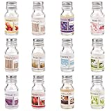 8 x Duftöl Set Ätherisches Öl, Raumduft für Duftlampe Diffuser als Aroma-Therapienöl: Blaues...