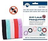 SHD Anti-Laus Haargummis im 20er SPARSET (5 Pack á 4 Haargummi) | Anti Läuse Haarband | 100%...