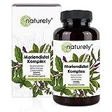 naturely Mariendistel Premium Komplex - Einführungspreis - 120 Kapseln - Mariendistel (80%...