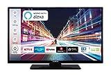 Techwood H32T52C 81 cm (32 Zoll) Fernseher (HD-Ready, Triple-Tuner, Smart TV, Prime Video, Works...