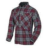Helikon-Tex MBDU Flannel Shirt Freizeit Outdoor Hemd -Polyester- Ruby Plaid