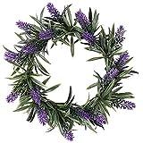 Deko-Kranz Lavendel,  18,5cm