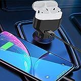 U`King Mini Kfz Ladegerät Quick Charge Zigarettenanzünder Auto Ladeadapter USB 2-Port Power Drive...