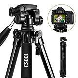 ESDDI 170cm/67inches Kamera Stativ Aluminiumlegierung Stativ Kompakt Leichtes Stativ fr Smartphone...
