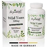 HERZENSWAHL Wild Yam Wurzel-Extrakt | 180 Kapseln | 20% Diosgenin | 1000mg Tagesportion |...