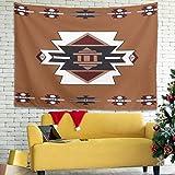 BOBONC Bunte Mandala Gitter Wand aufhängen Wall Hanging Comforter, Home Dekor für Wohnzimmer...