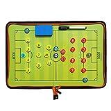 Fußball Taktiktafel Tragbar Trainer Taktikmappe Coachen Trainer-Mappe Fussball Coach-board mit...