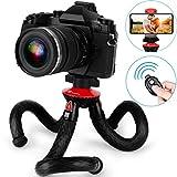 Handy Stativ, GooFoto Flexibel Stativ für Smartphone mit Fernbedienung, Wasserdicht Tripod, Kamera...
