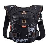 Xieben Outdoor Motorrad Drop Bein Tasche für Männer Frauen Nylon Hüfttasche Tasche Fahrradfahren...