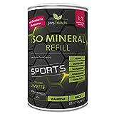 joy.foods Iso Mineral Refill Limette, isotonisches Sportgetränk, für Ausdauer, 600 g