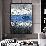 Geiqianjiumai Moderne dekorative malerei groe Farbe abstrakte leinwand malerei Home wandkunst...