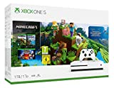 Xbox One S 1TB Konsole + Minecraft incl. Explorers Pack & Complete Adventure