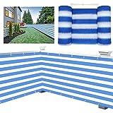 Balkon Sichtschutz Schutz Sichtschutz, Schutz Vor Schädlichen UV-Strahlen Wasserdichtes HDPE...