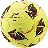 Pro Touch Fuball Force Indoor Ball, Gelb/Schwarz/Rot, 5