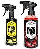 Auto Reiniger SPARSET | Premium Auto Felgenreiniger für lackierte Alu- und Stahlfelgen (1000ml) +...