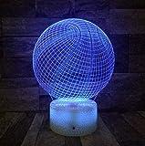 3D Illusion Nachtlicht Bluetooth Smart Control 7 & 16M Farbe Mobile App Led Vision Basketball ein...