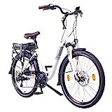 NCM Munich 26' E-Bike City Rad, 250W, 36V 13Ah 468Wh wei
