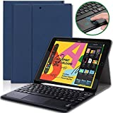 iPad Pro 12.9 2020 Tastaturhlle mit Stifthalter, abnehmbare Tastaturhlle mit Touchpad,...