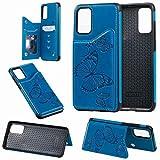 Samsung Galaxy S20 Plus Hülle Flip Lederhülle, Samsung S20 Plus Handyhülle Book Case...