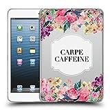 Head Case Designs Offizielle Monika Strigel Carpe Kaffeine Blumen und Zitate Soft Gel Huelle...