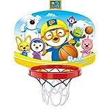 Indoor Sicher Basketball Set mit ABS Hoop Kinder, Hngen Basketball-Board mit Ball fr Kleinkind...