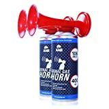 AAB Signal Gas Horn 400 ml  Laut Air Horn 106 dB(A), Trten Fuball, Lufthorn, Vuvuzela, Pressluft...