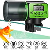Pidsen Futterautomat Fische Automatischer, Fisch Futterspender mit LCD Bildschirm intelligent und...