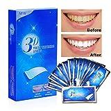 Aiooy White Strips 28pcs Zahnaufhellung Zahn Bleaching Strips für Weißere Zähne Zahnweiß...