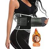Fasclo Damen Taillen-Trimmer, Trainer, Sportgürtel, Gewichtsverlust, Bauchgürtel, Körper, Slim...