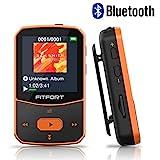 MP3 Player Bluetooth 4.1 Sport 8GB - Verlustfreier Sound FM Radio,Sprachaufzeichnung,E-Book und...